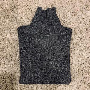 Grey Speckled Turtleneck